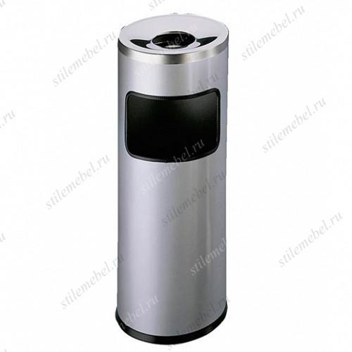 Корзина для мусора с пепельницей, 17+2 л