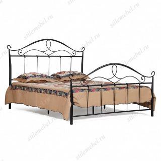 Кровать кованая «San Pierro» + основание (160 см х 200 см )