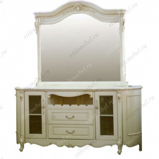 MK-1834-IV Сервант c зеркалом Милано Buffet with mirror 8803