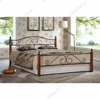 Кровать AT-815 (метал. каркас) + металл. основание (160x200)