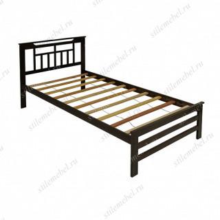 Кровать односпальная деревянная 6162T