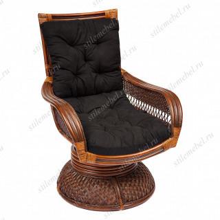 Кресло-качалка «Андреа релакс» (Andrea Relax) + ПОДУШКА цвет черный