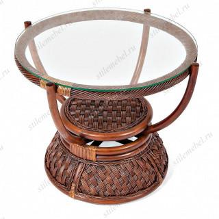 Кофейный столик «Андреа» (Andrea) натуральный ротанг