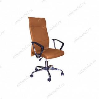 Кресло 9371 L-2 кож/зам коричневое