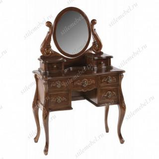 Туалетный столик с зеркалом NBA Pecan M WA 016