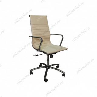 Кресло Н-9016 L-1Е1 кож/зам бежевый
