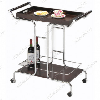 Столик сервировочный на колесиках со съемным подносом SC 5090