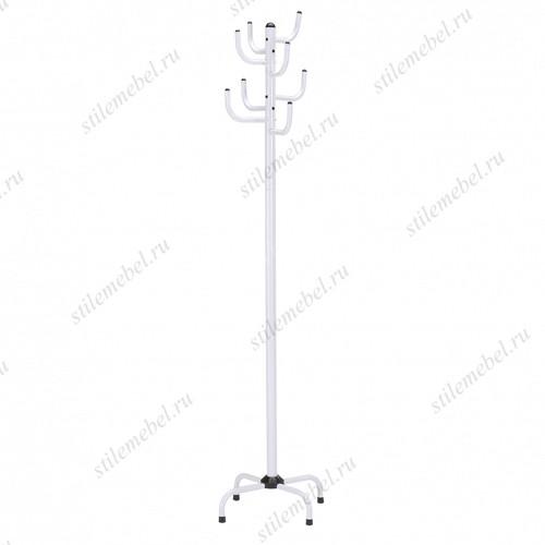 Вешалка для одежды напольная GC 0413-2 (белая)