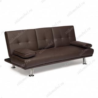 Диван-кровать с откидным столиком «Danny» шоколад