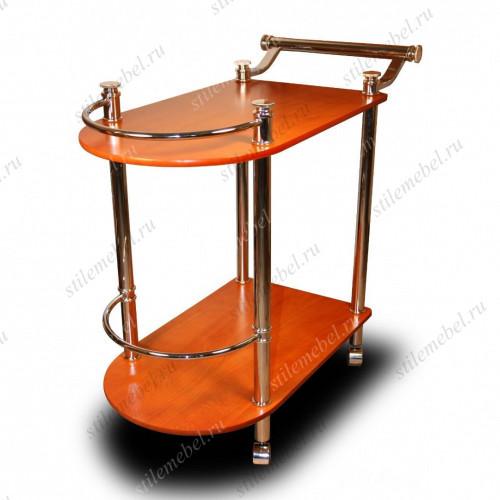 Столик сервировочный на колесиках SC 5038-WD-C Cherry