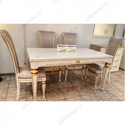 Обеденная группа стол Альт 60-11 и 4 стула Сибарит 30-11