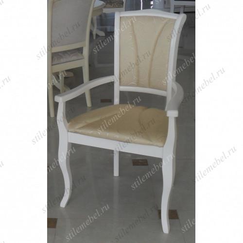Кресло OP-AC Opera Butter White (Белый) СВЕТЛОЕ СИДЕНЬЕ