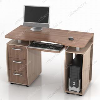 Компьютерный стол ДРОФА КС-12М ясень шимо