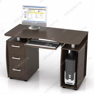 Компьютерный стол ДРОФА КС-12М Венге