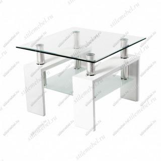 Журнальный стол CT-52 белый (60х60)