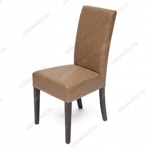 Стул с мягким сиденьем и спинкой «Диана» (Diana) Венге/Коричневый