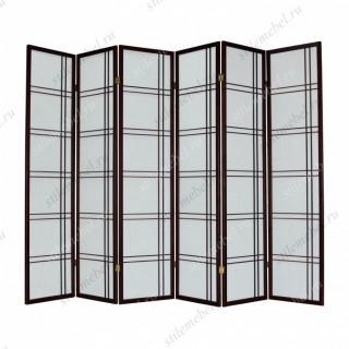 Ширма 359-6 (6 панелей) махагон