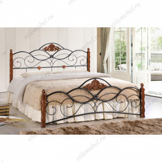 Кровать двуспальная CANZONA (Канцона) 140