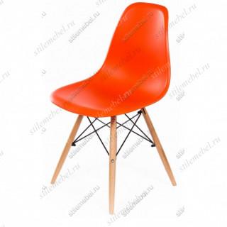 Стул Eames PC-015 оранжевый