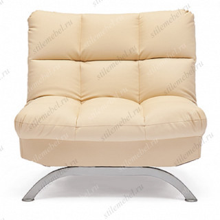 Кресло «Америлло» (Amerillo) кож/зам, бежевый, 36-34