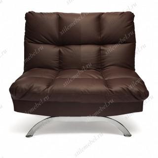 Кресло «Америлло» (Amerillo) кож/зам, коричневый, 36-36