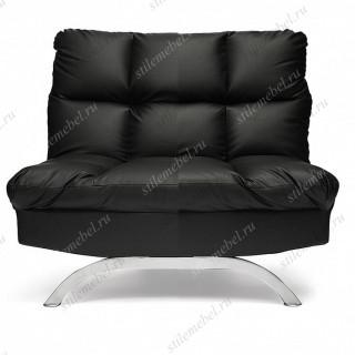 Кресло «Америлло» (Amerillo) кож/зам, черный, 36-6
