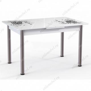 Обеденный стол Грация (черный)