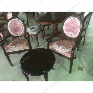Комплект для гостинной Fiona розовые цветы