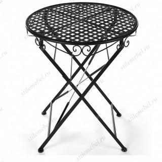 Складной стол PATIO черный
