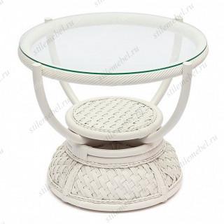 Кофейный столик «Андреа» (Andrea) нат. ротанг (TCH White)