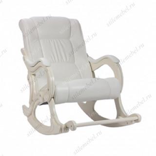 Кресло-гляйдер мод.77 (Манго 002 /Сливочный)