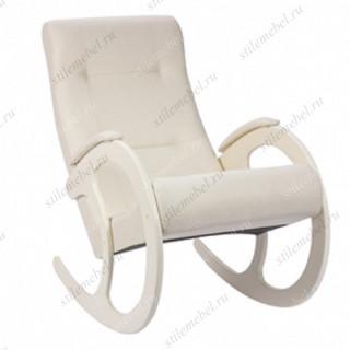 Кресло-качалка мод.3 (Мальта -01/Сливочный)