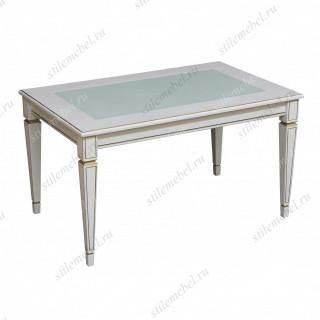 Журнальный столик В 81С белый ясень