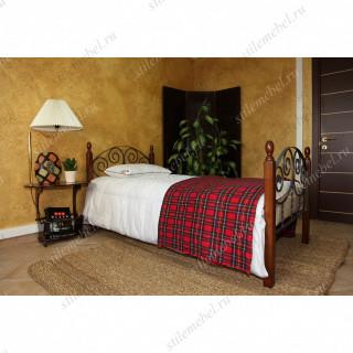 Кровать односпальная ПРИМА-1.0 (90х190)