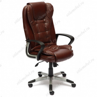 Кресло компьютерное «Барон» (BARON) коричневый 2TONE