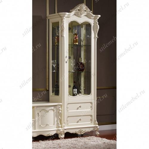 FF6093 Глория Витрина 1-дверная 1DOOR CELLARET (MK-2715-WG)