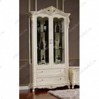 FF6093 Глория Витрина 2-дверная 2DOOR CELLARET (MK-2716-WG)