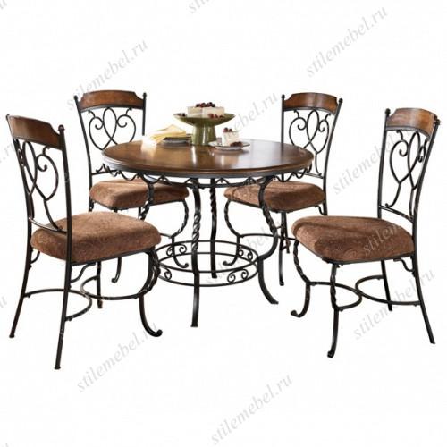 Комплект стол и 4 стула D316-225