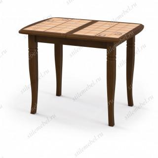Стол «Домино-2О» дуб, плитка «Комфорт», ноги D