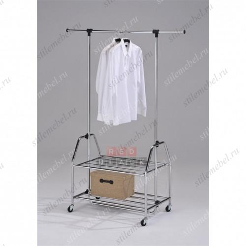Стойка для одежды на колесах СН-4579
