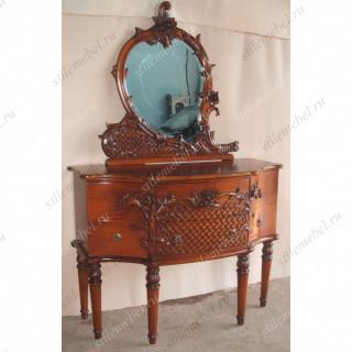 Туалетный столик с зеркалом B180E-ASD