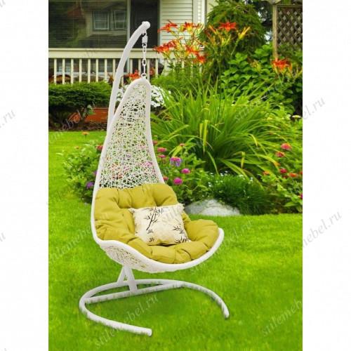 Кресло подвесное WIND белый