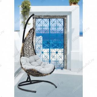 Кресло подвесное WIND коричневый