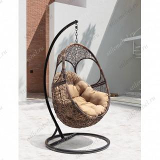 Кресло подвесное SOLAR коричневый