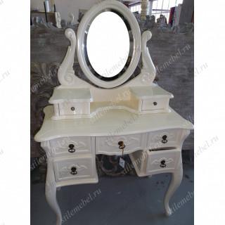 Туалетный столик с зеркалом (массив кр. дерева) IVORY WA 016