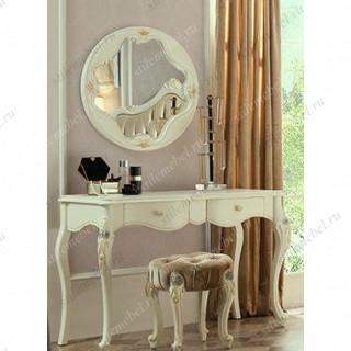 Туалетный столик + зеркалом + банкетка MK-5003-WG