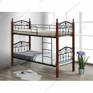 Кровать двухъярусная Mabel MK-5226-RO
