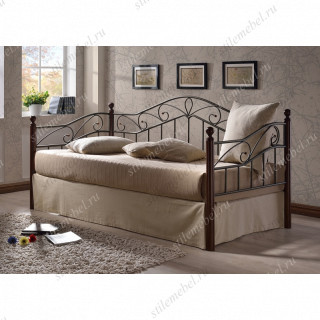 Кровать Melis MK-5234-RO (решетка металлическая), 90x200