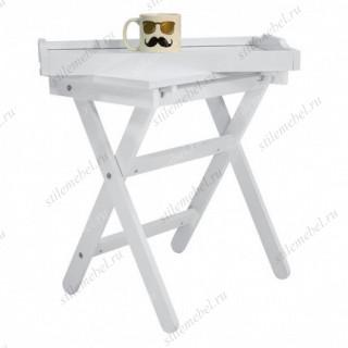 Столик с подносом Лотос (молочный дуб)