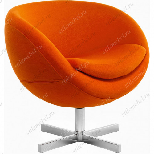 Дизайнерское кресло A686 (реплика PLANET6) оранжевое